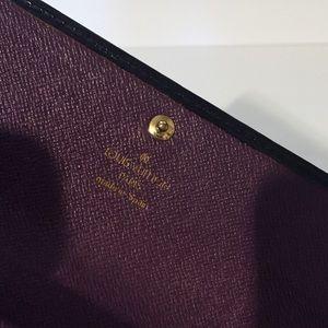 Louis Vuitton Bags - Louis Vuitton black epi leather Sarah wallet